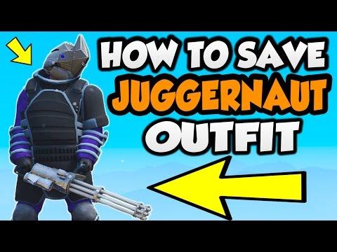 گلیچ ذخیره لباس JUGGERNAUT در GTA Online