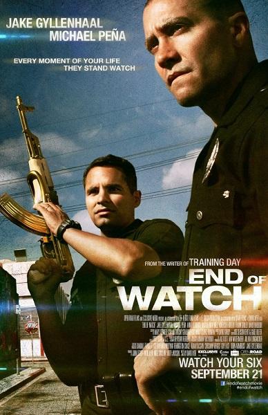 دانلود فیلم End of Watch 2012 + زیرنویس فارسی