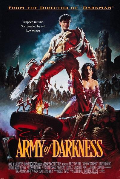 دانلود فیلم Evil Dead III: Army of Darkness 1993 + دوبله فارسی