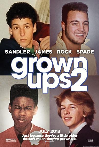 دانلود فیلم Grown Ups 2 2013 + زیرنویس فارسی